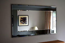 John Lewis Marietta Wall Mirror RRP£225 Grey/Smoked Glass 101x75cm Clearance