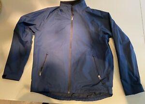 HENRI LLOYD mens large blue waterproof sailing boating jacket