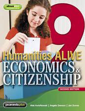 Humanities Alive Economics & Citizenship 9 & eBookPLUS, Like new, free shipping