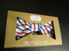 Baby Boy Bow Tie by Mud Pie, Red, White, Blue Patriotic, NIB