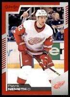 2020-21 UD O-Pee-Chee Red Border #308 Patrik Nemeth - Detroit Red Wings