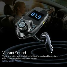 Wireless Bluetooth In Car FM Transmitter USB Charger AUX Radio Adapter Handsfree