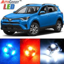 10 x Premium Xenon White LED Lights Interior Package Kit for Toyota RAV4 + Tool