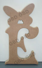 VICTORIAN LETTERS WITH BUTTERFLY IN MDF (18mm thick)/WOODEN CRAFT SHAPE