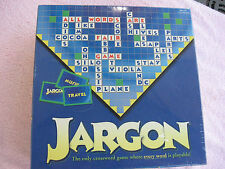 """JARGON A """"No Rules"""" Crossword Scrabble Word Game`Factory Sealed In The Box"""