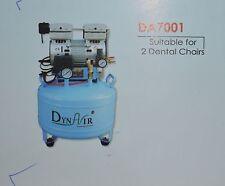 Dental Air Compressor Oil free low noiseSuitable upto 2dentalchair DA7001CEMark
