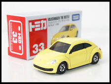 TOMICA #33 VOLKSWAGEN THE BEETLE 1/66 TOMY DIECAST CAR 2013 JUNE New Model
