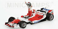 MINICHAMPS 050116 Toyota Racing TF105 F1 model J Trulli 1st podium 2005 1:43rd