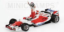 Minichamps 050116 TOYOTA RACING TF105 F1 modello J TRULLI salito sul podio 1st 2005 1:43rd