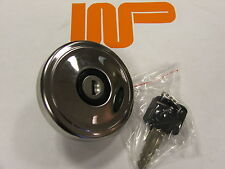 CLASSIC MINI - STAINLESS STEEL OE VENTED LOCKING FUEL CAP GSS154