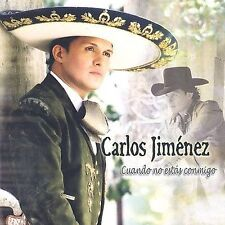 FREE US SHIP. on ANY 2+ CDs! ~Used,Good CD Carlos Jimenez: Cuando No Estas Conmi
