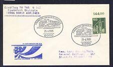 48507) TWA FF Frankfurt - St.Louis 29.4.85, Brief EF 160PF IuT