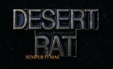 Desert Rat Lapel Hat Pin Up Us Army Marines Navy Air Force Uscg Veteran Wow