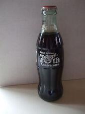 1996 Detroit Red Wings 70TH ANNIVERSARY SEASON Coca-Cola Bottle – FULL L@@K!