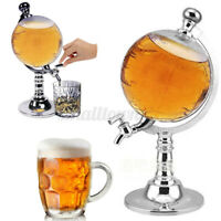 1000cc Globe Shaped Beverage Liquor Dispenser Wine Beer Machine Pump   j s ☀