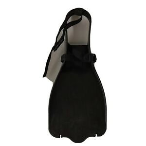 Outcast Sporting Gear kick Fins Black One Size for fishing float tube or pontoon
