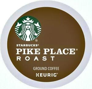 88 Count Keurig K-Cups | Starbucks Pike Place Medium Roast Coffee | EXP: 05-2022