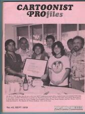 CARTOONIST PROFILES #43 comic fanzine MORT WALKER Milton Caniff I. KLEIN 1979