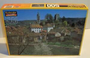 New Sealed 2000 Kodacolor AARQAU CANTON SWITZERLAND 500 Pc Jigsaw Puzzle #20500