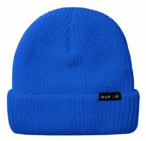 Huf Worldwide Skateboard Beanie Winter Mütze Hat Usual Dynamic Cobalt