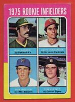 1975 Topps #623 Keith Hernandez ROOKIE RC VG-VGEX+ St. Louis Cardinals