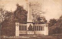 POSTCARD   HAMPSHIRE  ALDERSHOT   RAMC   War  Memorial