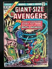 Giant-Size Avengers 2 -Kang the Conqueror -Origin of Rama-Tut -Mcu -Vision 1974