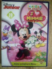 DVD La Maison de Mickey n°19 - J'aime Minnie - Disney Junior