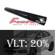 "New 20""x100Ft 20% Vlt Dark Shade 2Ply Window Tint Film Roll 20% Car Truck"