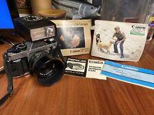 Canon AE-1 Program 35mm SLR Film Camera with Canon 50mm 1.8 lens