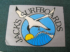 Vintage jacks surfboard surfing surf longboard large laminate mid 60s california