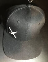 Mercer Culinary Snap Back Hat Cap Black With Small White Logo NWOT OSFM