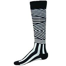 Red Lion Zig Zag High Crazy Team White Black Socks Soccer Lax Team Crossfit