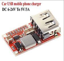 DC Step-down Regulator Power Module Car USB Phone Charger DC 6-24V To 5V/3A