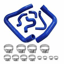 Silicone Radiator Hose Kit For Mustang Gt Lx Cobra 5.0 1986-1993 88 89 91 Blue