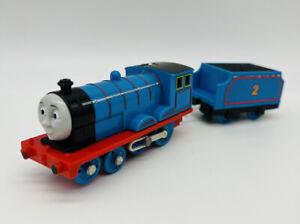 EUC EDWARD Motorized Train 2009 Trackmaster Thomas & Friends Mattel Tank Engine