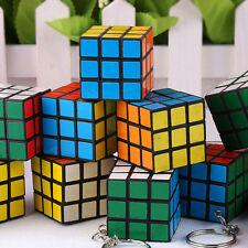 2pcs Mini Cute Magic Cube Keyring Puzzle Keychain Speed Toy Fancy Gift