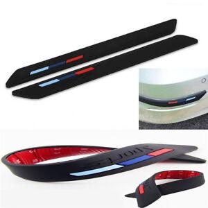 Bumper Lip Side Scratch Protector Strip Guard Anticollision Stickers Universal