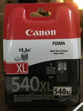 printer cartridge Canon Pixma 540XL black new And Sealed.