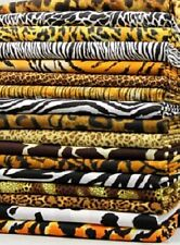 Animal Skins 100% cotton Material Face Mask Fabric Pick your yardage amounts