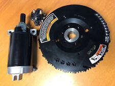 Volante de arranque eléctrico, motor de arranque Starter & Solenoide Yamaha 30HP 40HP 4Str Motor Fuera De Borda