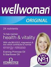 Vitabiotics Wellwoman Original varios suplementos vitamínicos 30 Tabletas UK