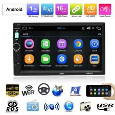 7'' HD 1080P Bluetooth WiFi Android Quad Core GPS Car Stereo MP5 Player FM AM