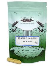 Haritaki Veggie Capsules | 500mg Capsules | Organic Certified