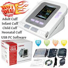 CONTEC digitale monitor della pressione arteriosa,4 polsini, Software PC, FDA CE