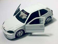 Jada JDM Tuners 1997 Honda Civic EK Type R 1:32 White Car 30973-DP1