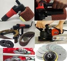 Wet Grinder Burnisher Pipe Polisher 3-In-1 Polishing Pad stone metal wood repair