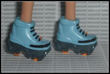 SHOES  BARBIE MYSTERY SQUAD DOLL BLUE GRAY ORANGE ROLLER SKATES OR SHOES