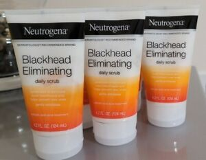 6 Pack Neutrogena Blackhead Eliminating Acne Treatment Daily Scrub 4.2 Ounce