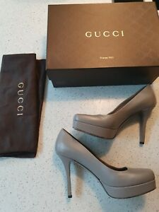 Gucci Grey Shoes Size 4